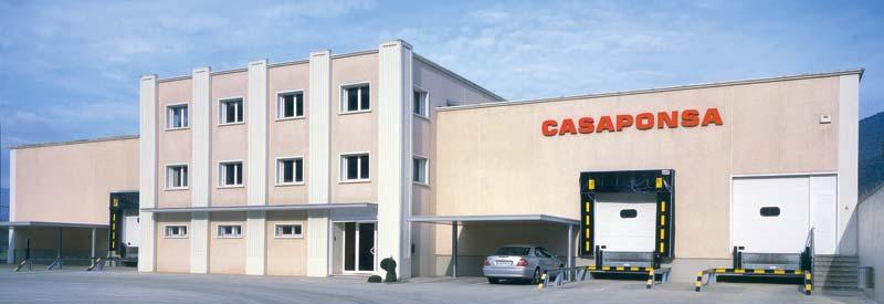 Planta de producció CASAPONSA