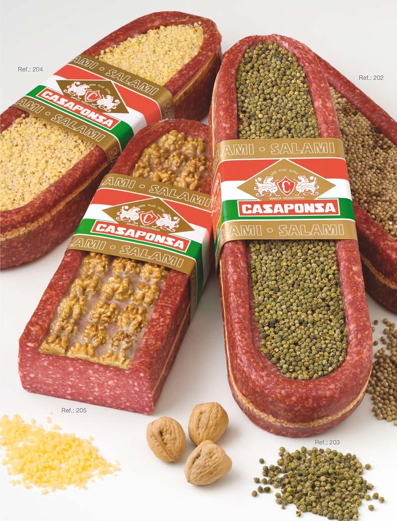 Chapata salami