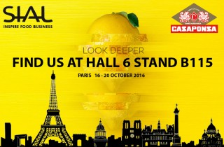 Casaponsa SIAL Paris 2016 - Hall 6 Stand B 115