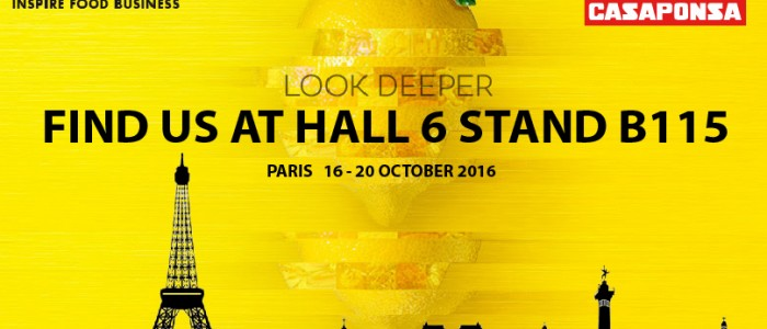 Casaponsa SIAL Paris 2016 - Hall 6 Stand B 115