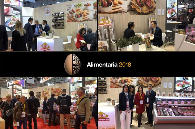Casaponsa Alimentaria Barcelona 2018